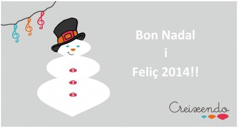 Felicitació Creixendo 2014